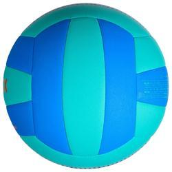 Volleybal V100 blauw en groen