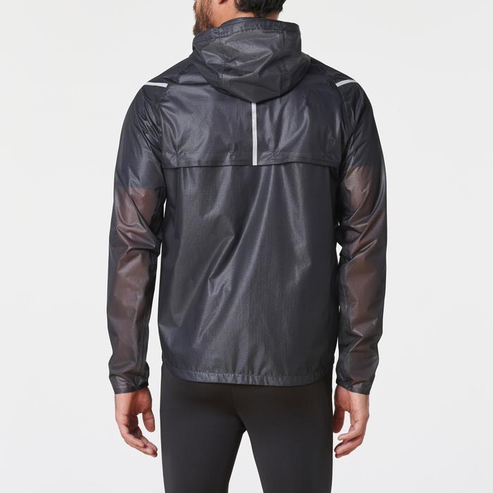 Heren regenjack voor hardlopen Kiprun Light zwart