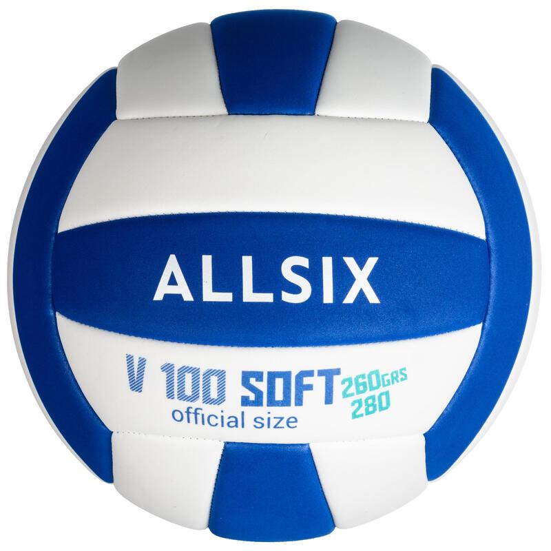 Piłka do siatkówki V100 SOFT 260 - 280 g od 15 lat