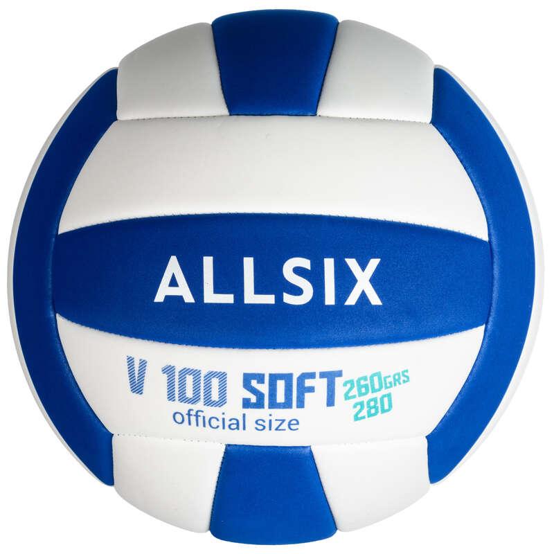 Labda (Röplabda) Röplabda, strandröplabda - Gyerek röplabda V100 Soft  ALLSIX - Röplabda, kiegészítők
