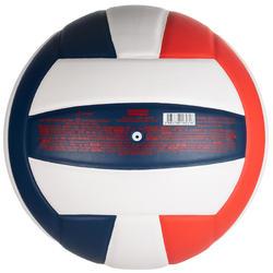 Volleyball V500 weiß/blau/rot