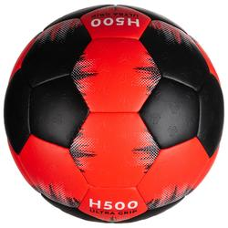 Handbal H500 maat 3 zwart/rood