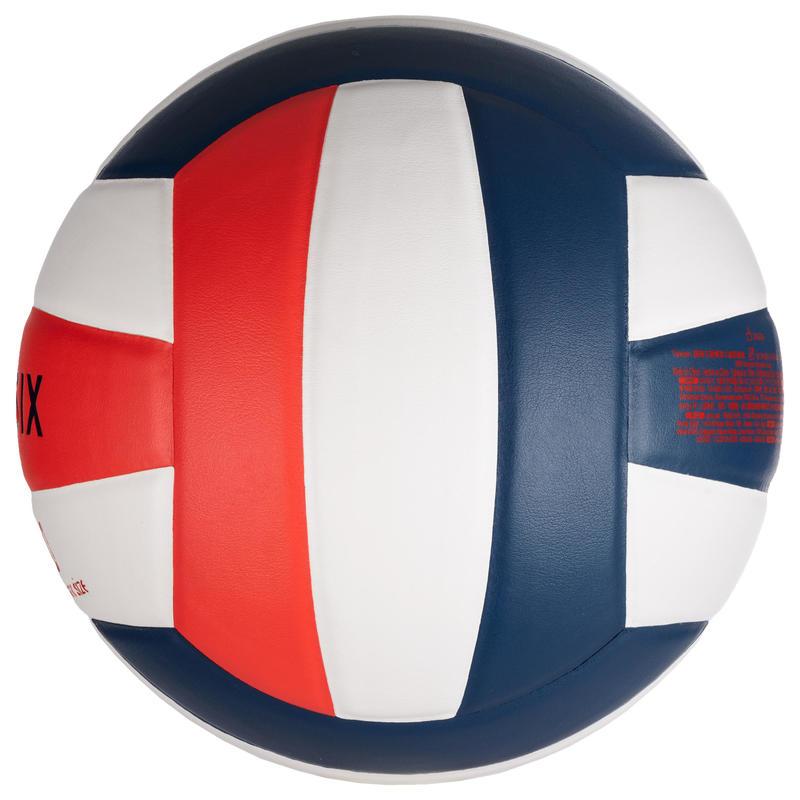 ลูกวอลเลย์บอลรุ่น V500 (สีขาว/น้ำเงิน/แดง)