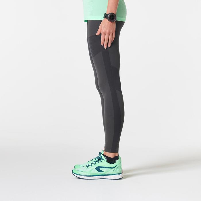 COLLANT RUNNING FEMME KIPRUN CARE GRIS FONCE