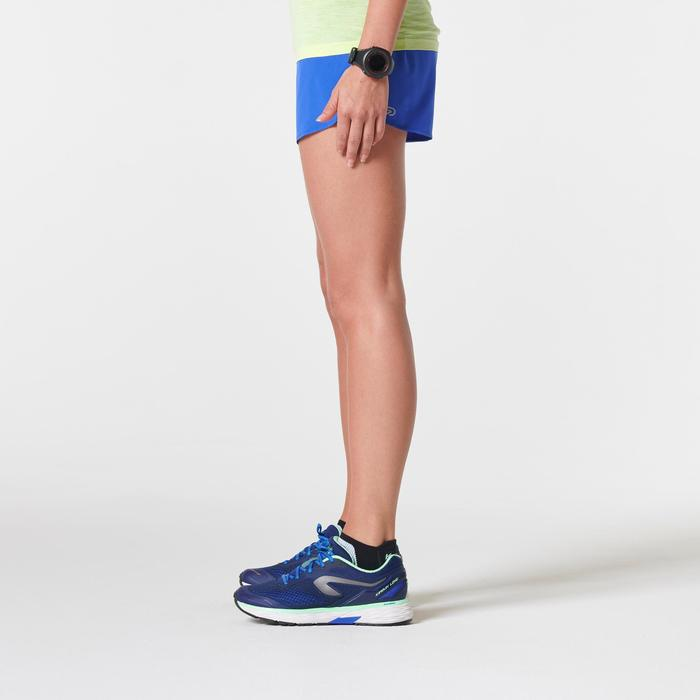 Laufshorts Kiprun Light Damen blau
