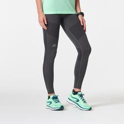 KIPRUN CARE WOMEN'S RUNNING TIGHTS - DARK GREY