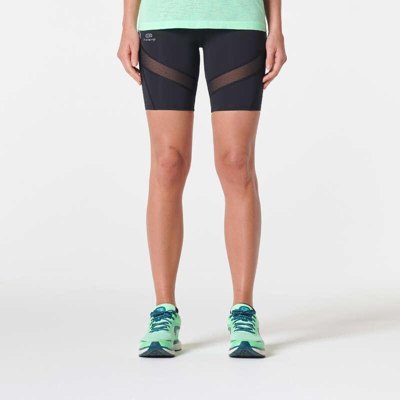 KADIN YOL KOŞUSU GİYİM Koşu - KIPRUN SUPPORT KISA TAYT  KIPRUN - Kadın Koşu Kıyafetleri