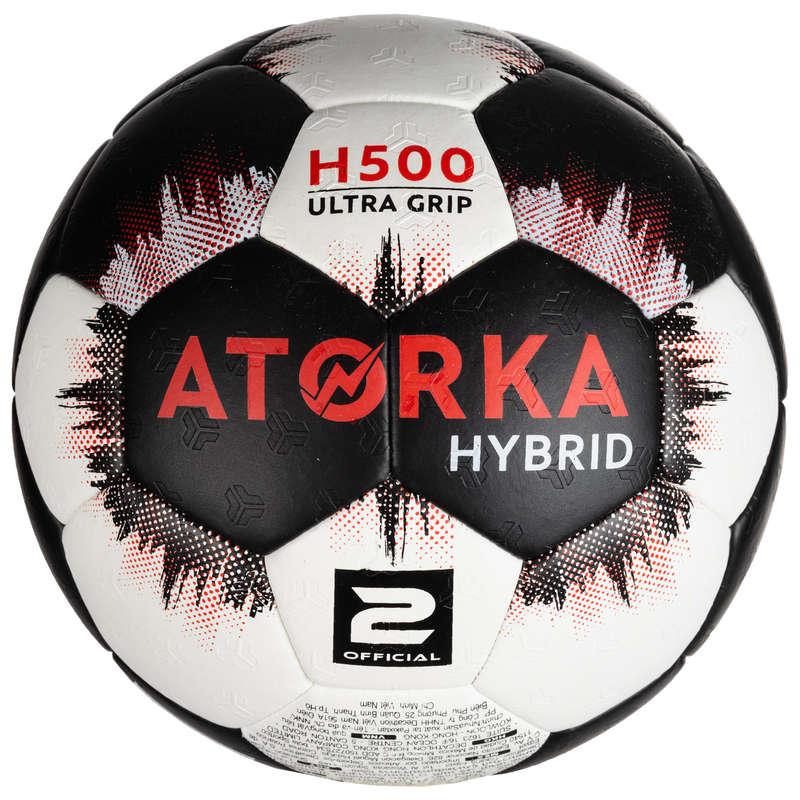 PALLAMANO Sport di squadra - Palla pallamano H500 T2 nera ATORKA - Sport di squadra