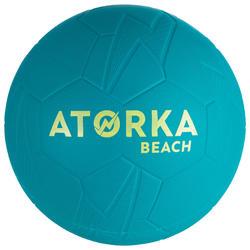 Balón de Balonmano Playa Atorka HB500B Talla 2 Azul