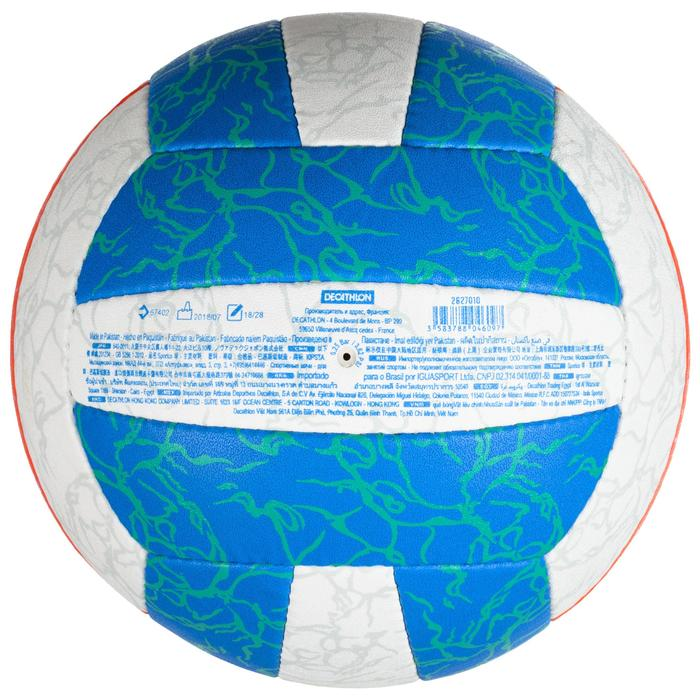 Beachvolleybal BV500 blauw/oranje