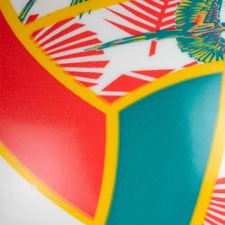 Mini ballon de beach-volley BVMB100 vert et rouge