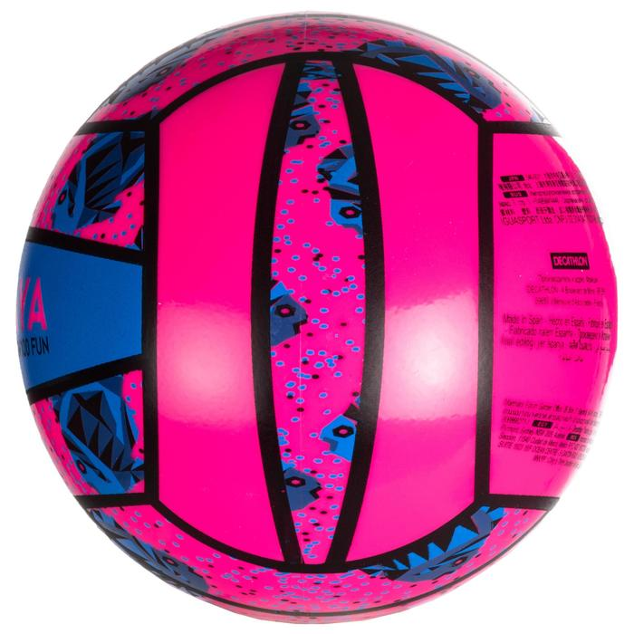 Mini-Beachvolleyball BV100 rosa/blau