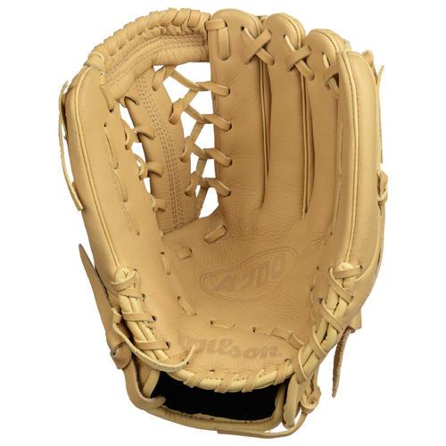 Gant de baseball A700 main gauche 12 pouces beige.