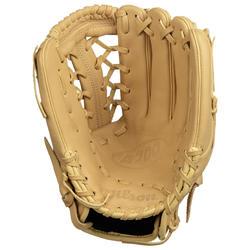Baseballhandschuh A700 linke Hand 12 Zoll Erwachsene beige