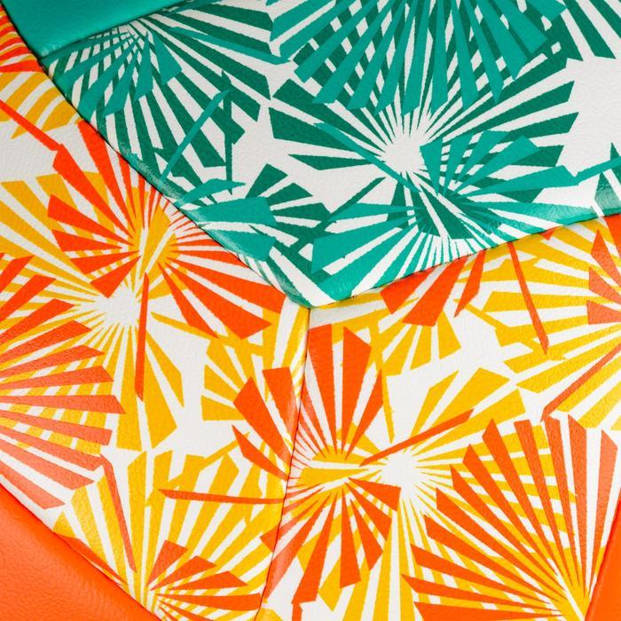 Beachvolleybal BVBS 100 groen/oranje