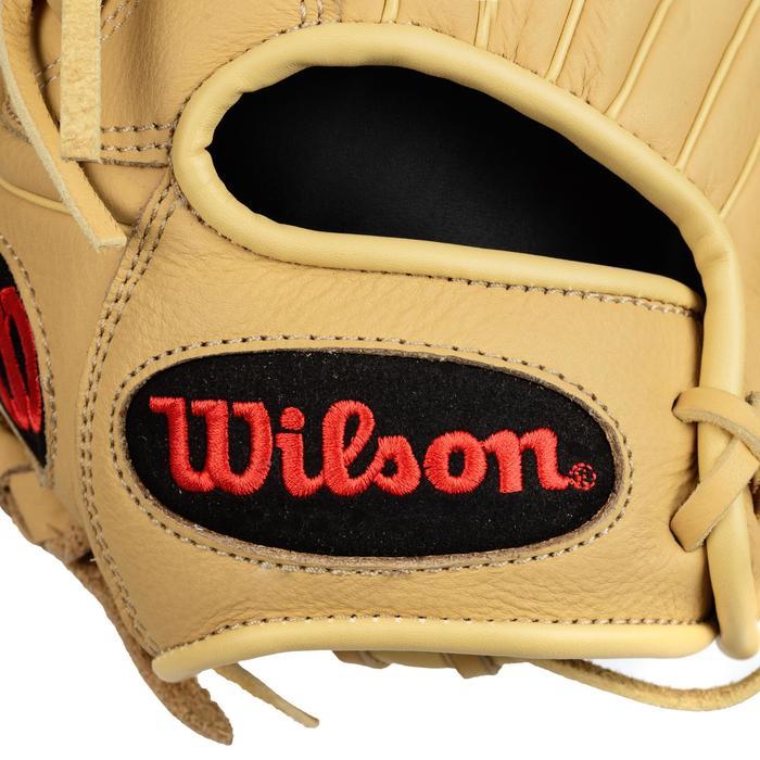 Baseballhandschuh A700 rechte Hand 12 Zoll Erwachsene beige