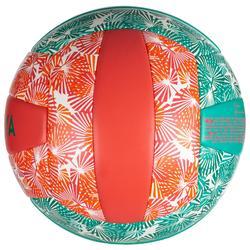Bal voor beachvolley BVBS 100 groen/roze