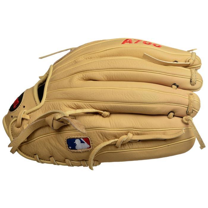Baseballhandschoen A700 rechterhand 12 inch beige