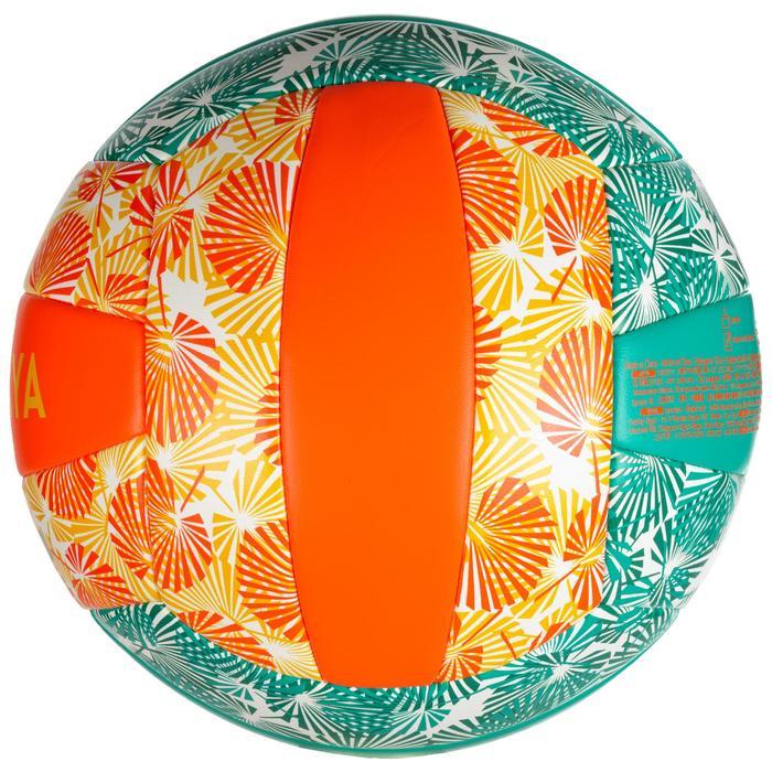Balón de voley playa BVBS100 verde y naranja