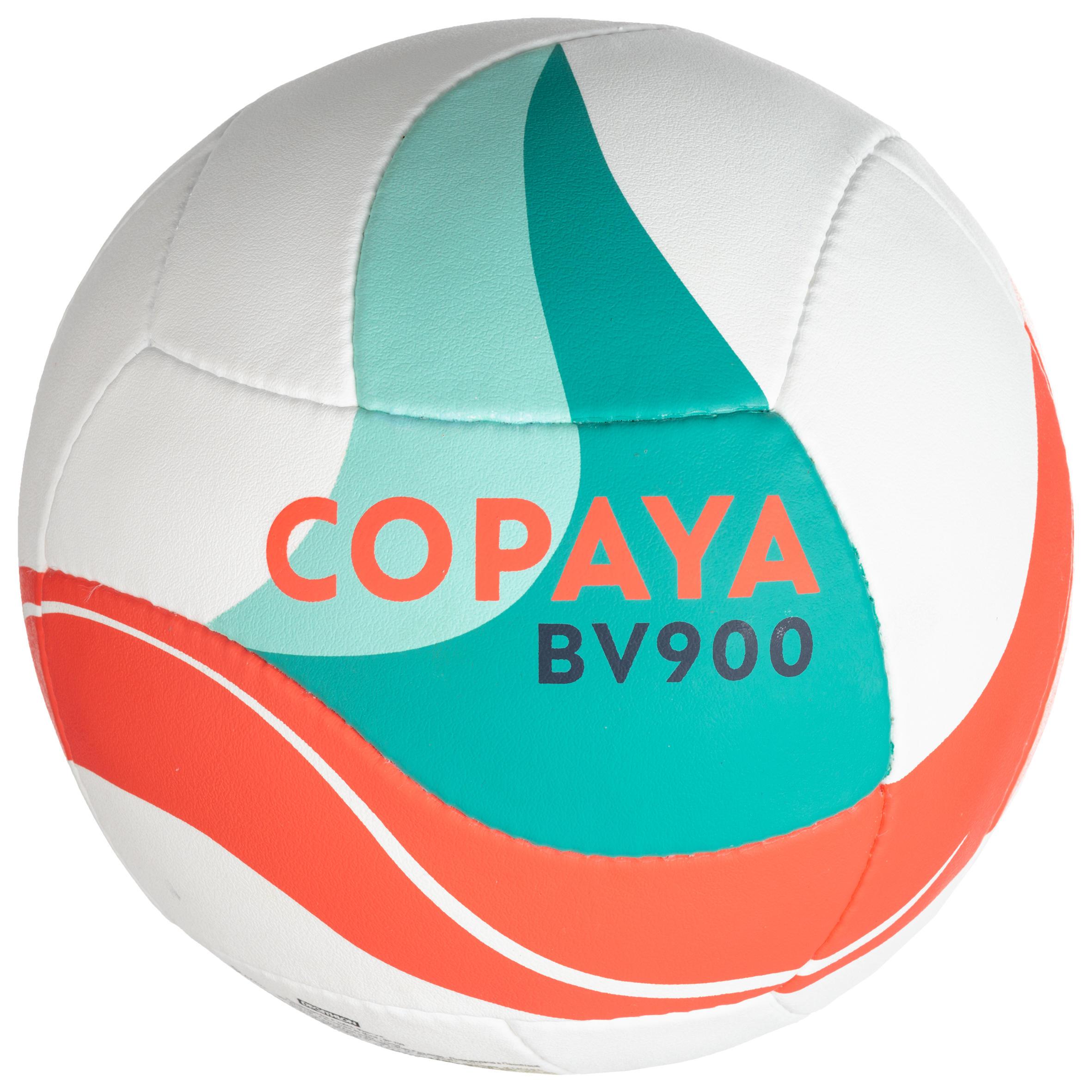 Copaya Beachvolleybal BV900 FIVB wit, groen en rood
