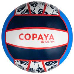 Balón Vóley Playa Copaya BV100 Azul Rosa