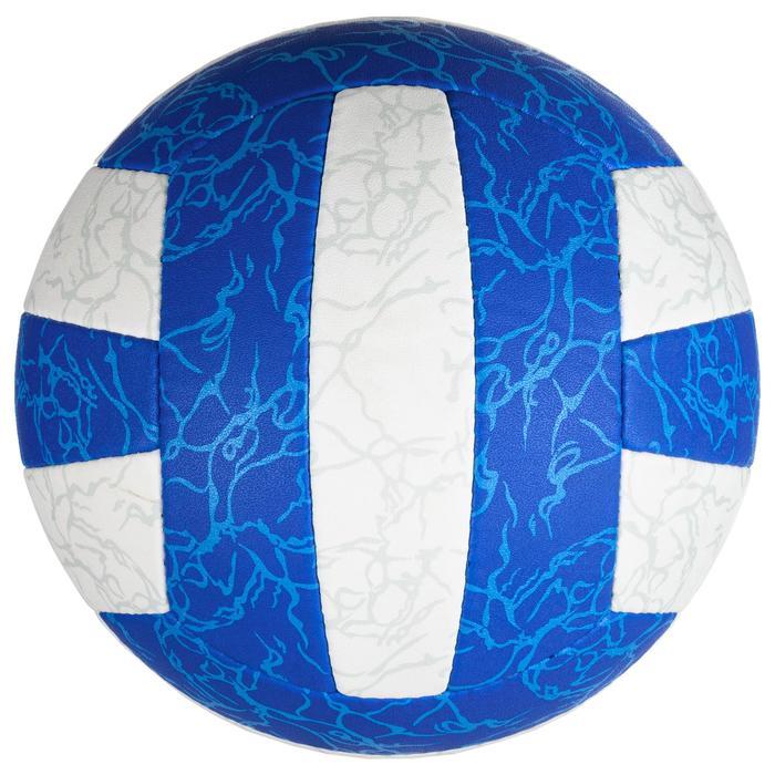 Balón de voley playa BV500 blanco y azul