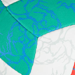 Ballon de volleyball de plage BV500 vert et rose