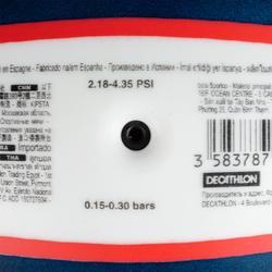 Bal voor beachvolley BV100 blauw/roze