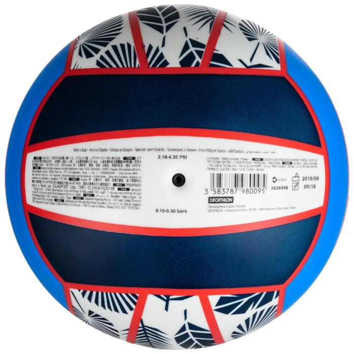 Ballon de beach-volley BV100 bleu et rose
