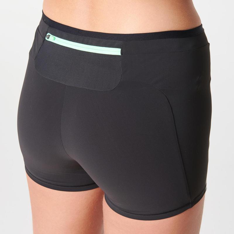 กางเกงวิ่งรัดรูปสำหรับผู้หญิงรุ่น Kiprun (สีดำ)