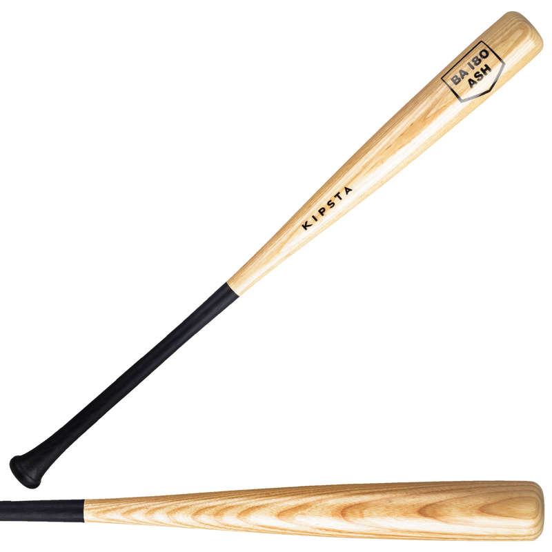 BASEBALL EQUIPMENT Baseball - Wood Bat BA180 30/33 inch KIPSTA - Baseball