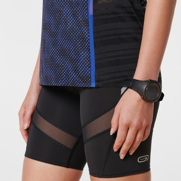 Lauftop Kiprun Light Damen dunkelblau