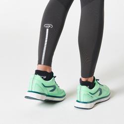 KIPRUN CARE WOMEN'S RUNNING TIGHTS - DARK GREY