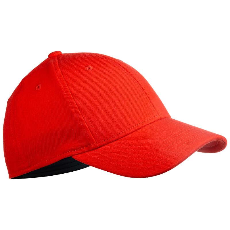 Baseball ütők és labdák USA csapatsportok, rögbi - Baseball sapka BA 500, piros KIPSTA - Baseball
