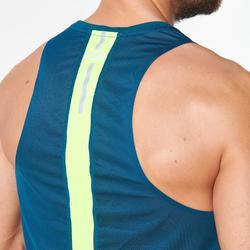 男款背心KIPRUN LIGHT藍色綠色