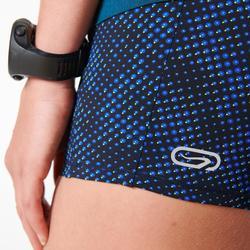 Mallas Cortas Shorts Deportivos Running Kalenji Kiprun Mujer Azul
