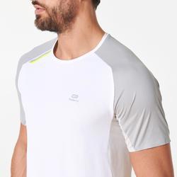 Hardloopshirt voor heren Kiprun Light wit