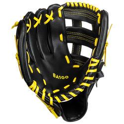 "Baseball-Handschuh BA100 9.5-10.5"" BA150 Linke Hand Werfer"