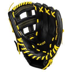 Baseballhandschuh BA100 linke Hand