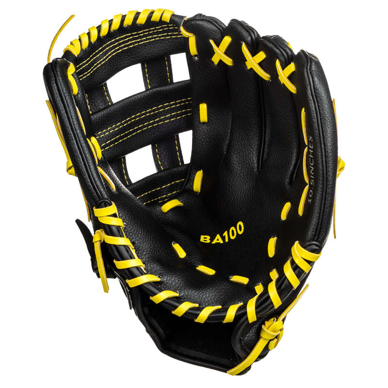 BASEBALL EQUIPMENT Baseball - Glove BA100 Left Hand KIPSTA - Baseball