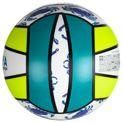 BV100 Beach Volleyball - Yellow/Green