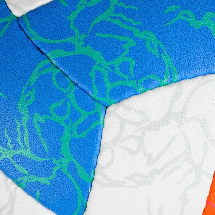 Ballon de beach-volley BV500 bleu et orange