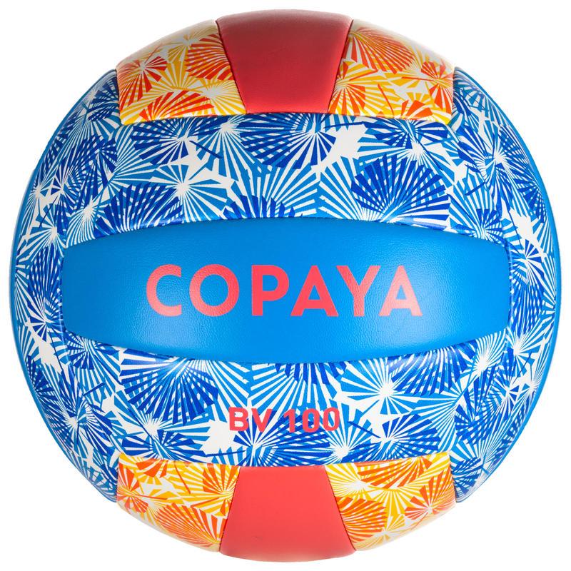 Balón de volley playa BVBS100 azul y rosa