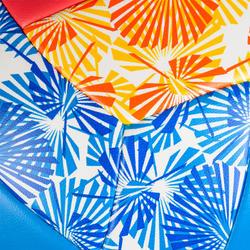Balón de voley playa BVBS100 azul y rosa
