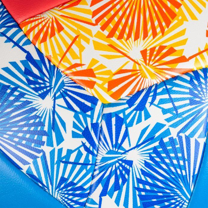 Balón de vóley playa BVBS100 azul y rosa