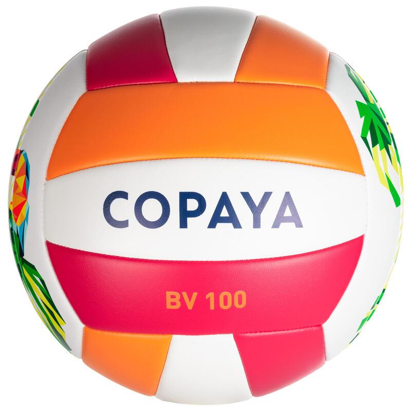 Ballon de beach-volley BV100 toucan rose