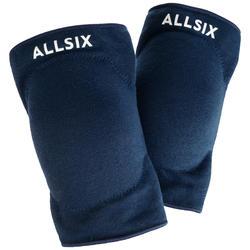 Kniebeschermers voor volleybal V500 marineblauw