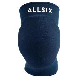 Kniebeschermers volleybal V500 marineblauw Allsix
