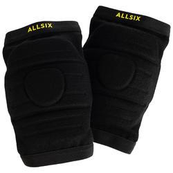 Rodilleras de Voleibol Allsix V900 negro
