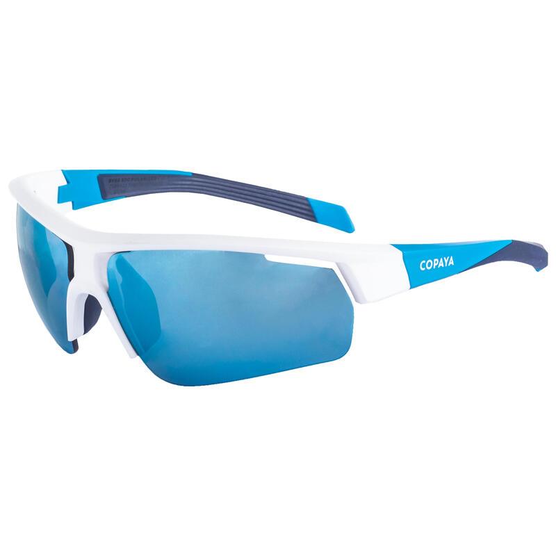 Ochelari BV500 volei de plajă albastru-negru-alb